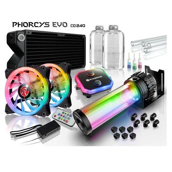 COMBO Custom PHORCYS EVO CD240 Water cooling DIY Kits