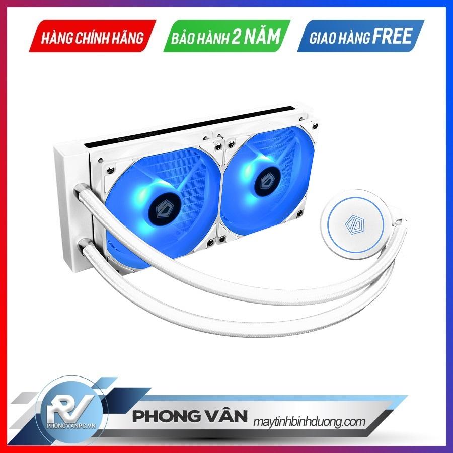 Tản nhiệt nước ID Cooling AuraFlow X240 Snow RGB
