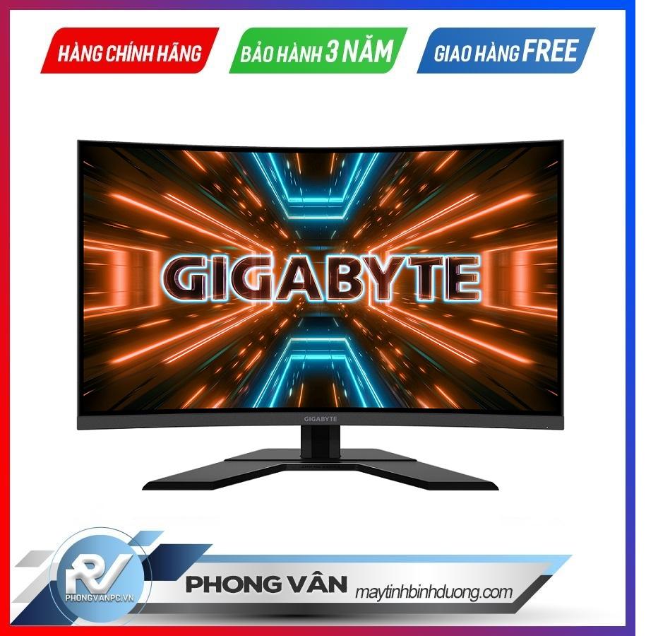 Màn hình Gaming Gigabyte G32QC-EK Cong 2K 165Hz - Phong Vân - maytinhbinhduong