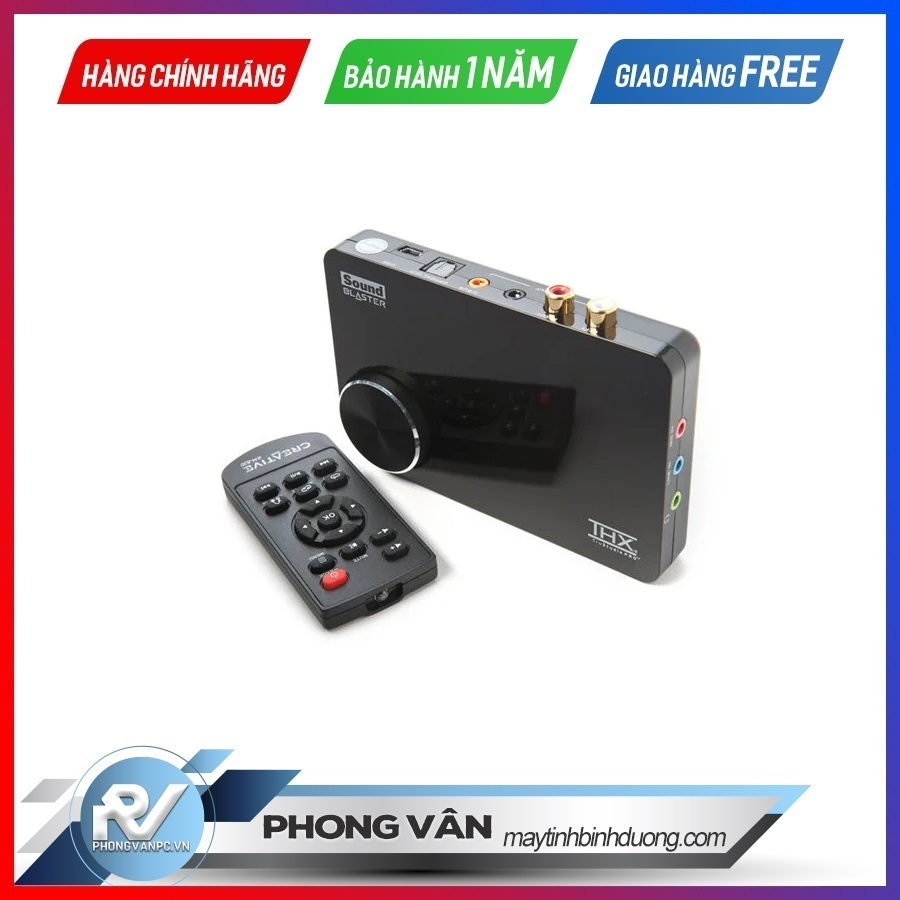 Card âm thanh Creative Sound Blaster X Fi Surround 5.1 Pro Remote