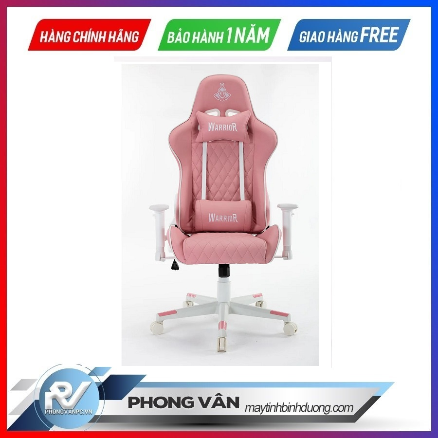Ghế gamer Warrior Raider Pink (WGC206)