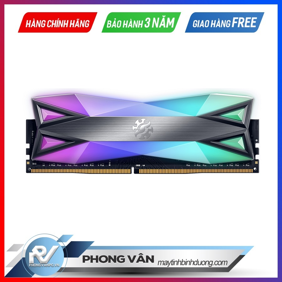 RAM-DDR4-16GB-ADATA-XPG-SPECTRIX-D60-BUSS-3600-TẢN-NHIỆT-TUNGSTEN-GREY-RGB