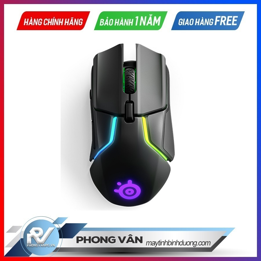 Chuột gaming SteelSeries Rival 650 Wireless