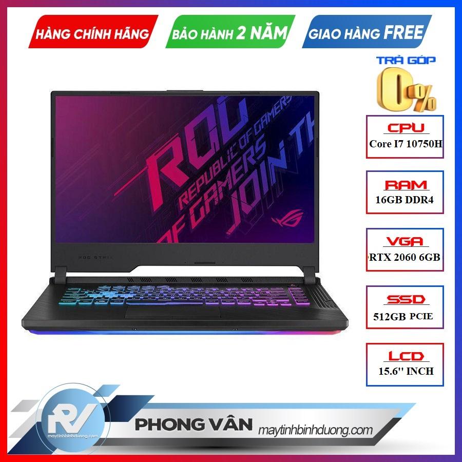 "LAPTOP ASUS ROG STRIX G15 G512L-VAZ068T CORE I7 10750H | RTX 2060 6GB | 16GB RAM | 512GB SSD | 15.6"" 240HZ IPS | WIN 10"