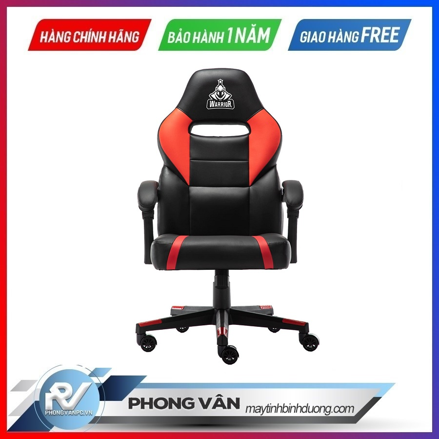 Ghế gamer Warrior Crusader Black/Red (WGC101)