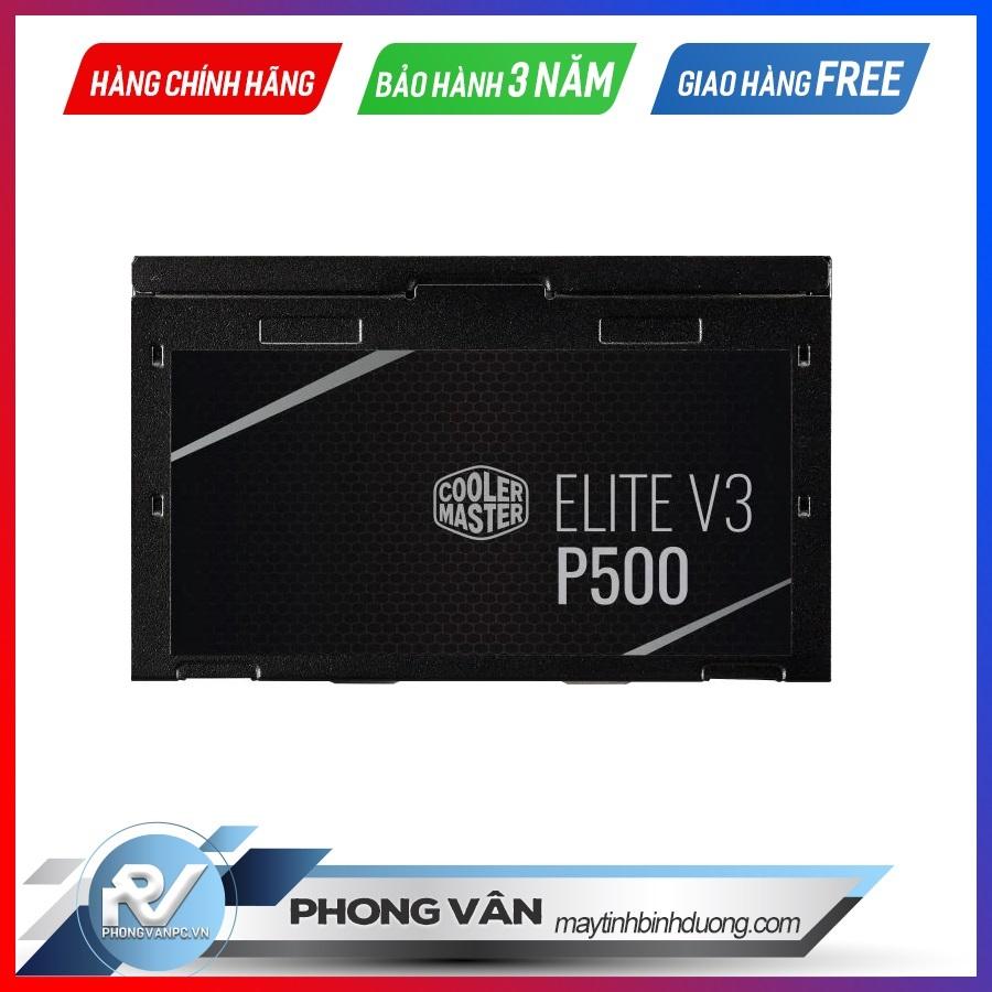 Nguồn máy tính Cooler Master Elite V3 230V PC500 Box1