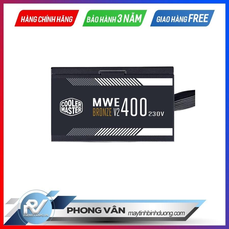 Nguồn máy tính Cooler Master MWE 400 Bronze - V2 230V - 400W