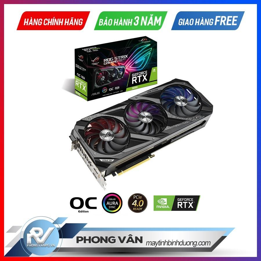 Card màn hình ASUS ROG STRIX RTX 3090 OC Edition 24G GAMING