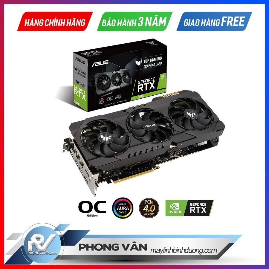 Card màn hình ASUS TUF RTX 3090 OC Edition 24G GAMING
