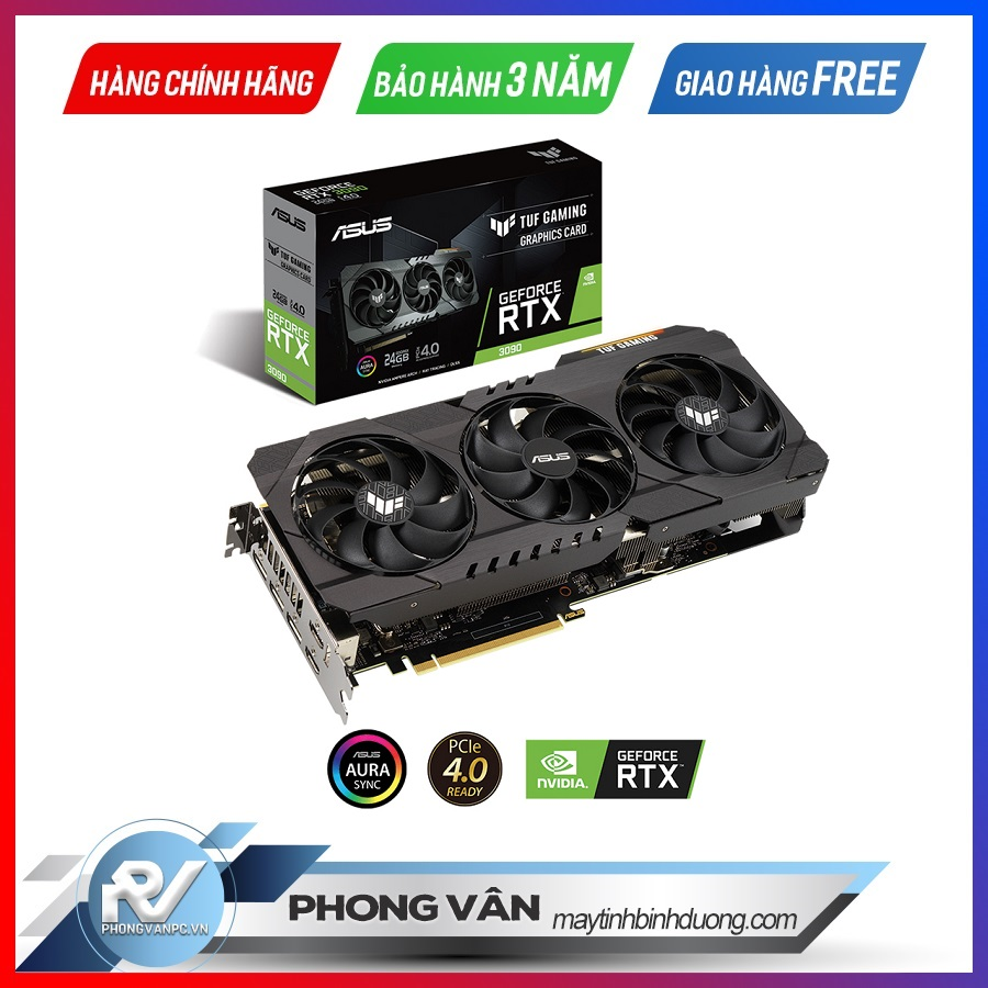 Card màn hình ASUS TUF RTX 3090 24G GAMING
