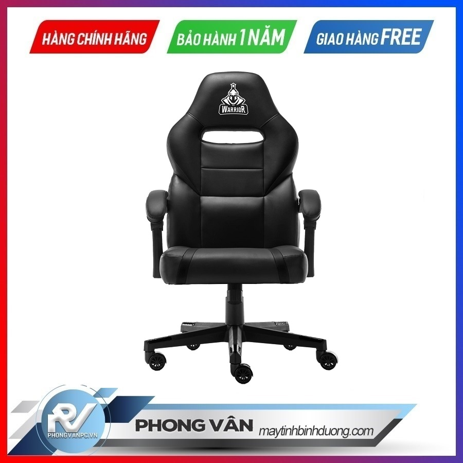 WARRIOR GAMING CHAIR - Crusader Series - WGC101 - Black