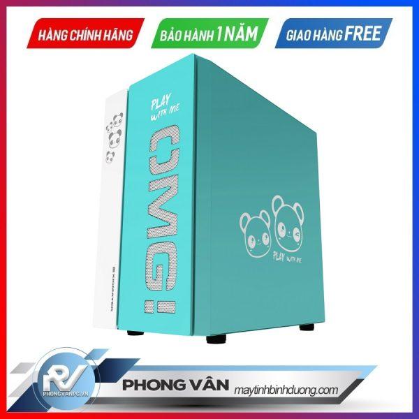 Vỏ case XIGMATEK OMG AQUA (EN45808) - GAMING M-ATX