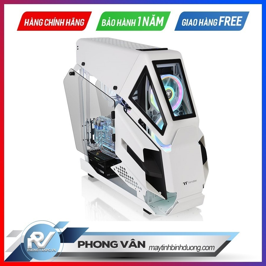 Vỏ Case Thermaltake AH T600 Snow Full Tower Chassis
