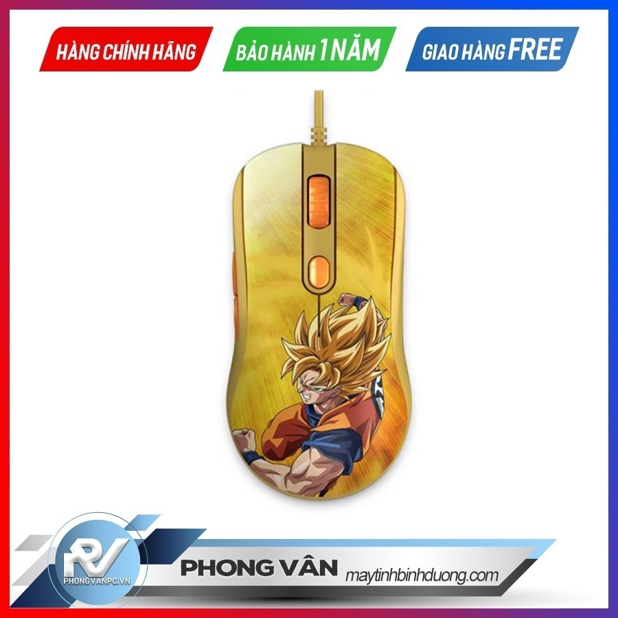 Chuột gaming AKKO AG325 Dragon Ball Super – Goku SSG