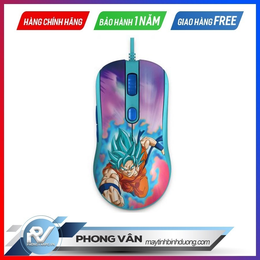 Chuột chơi game AKKO AG325 Dragon Ball Super – Goku SSGSS