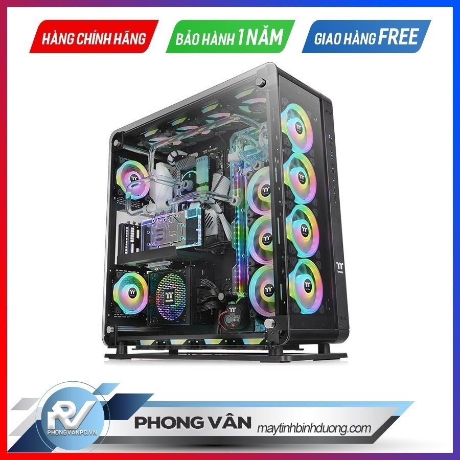 Vỏ Case Thermaltake Core P8 Tempered Glass Full Tower Chassis