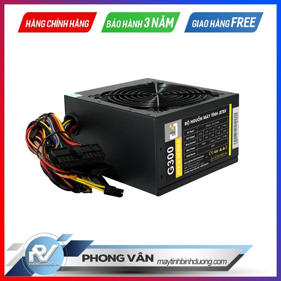 Nguồn máy tính Jetek G300 - 300W