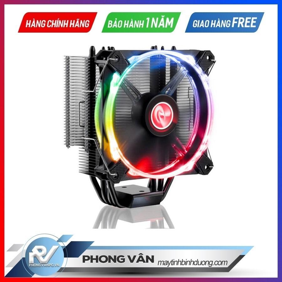 Tản nhiệt khí CPU LETO RGB (Single RGB fan)