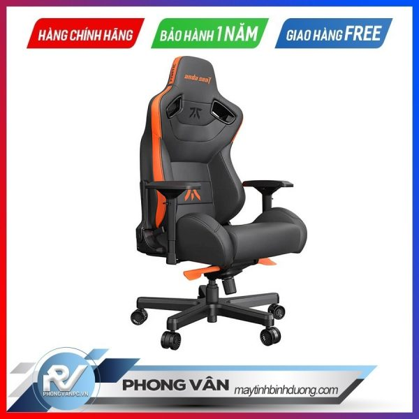 AndaSeat Fnatic Edition Premium Gaming Chair Kingsize Limited Edition1