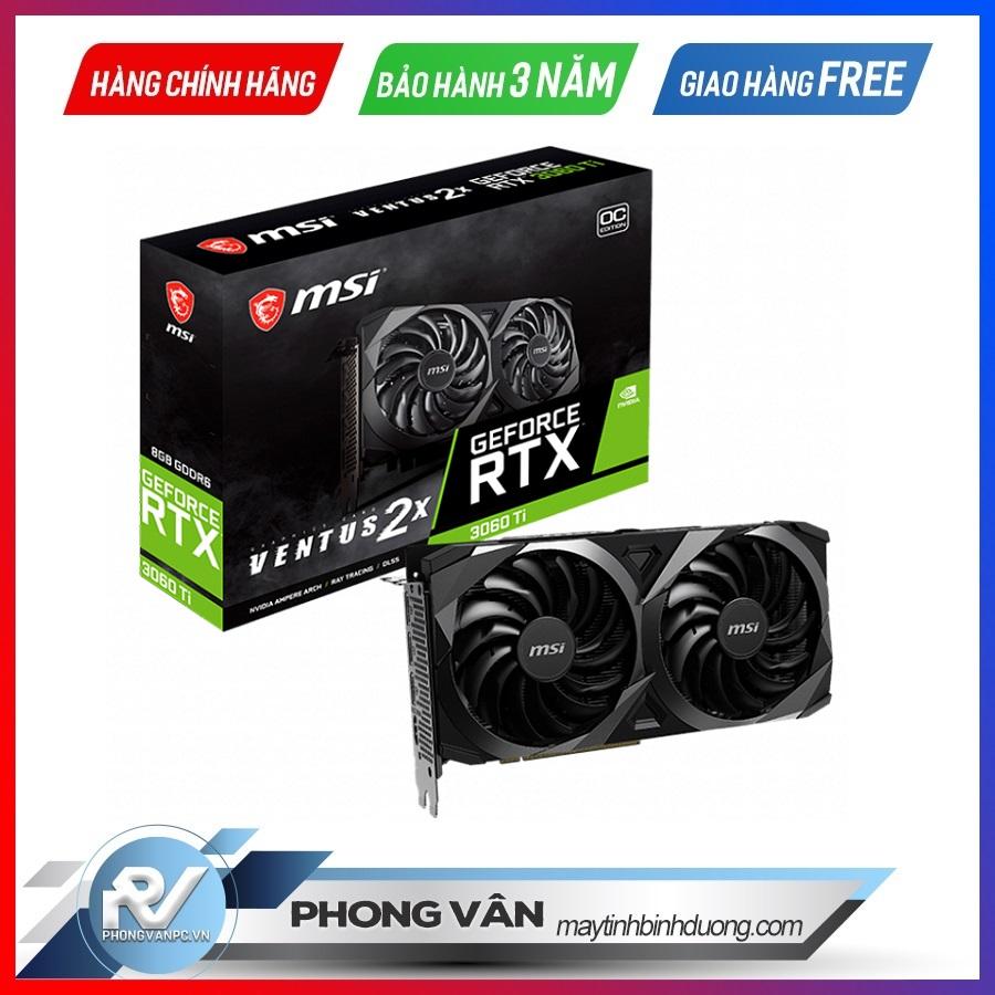 Card đồ họa MSI RTX 3060 Ti VENTUS 2X OC 8GB