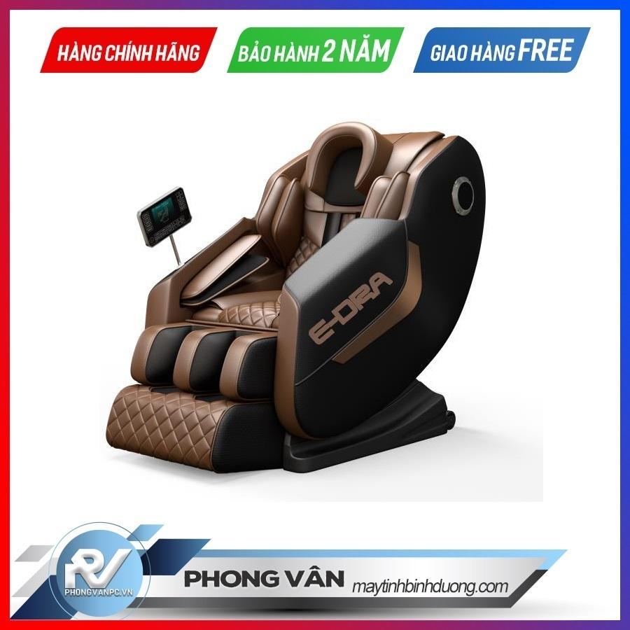 Ghế massage E-Dra Hestia EMC100(Trắng nâu/Đen nâu/Be xám)