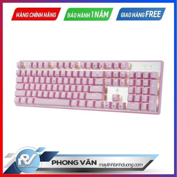 Bàn-phím-cơ-BJX-KM9-Full-Size-Blue-Red-Switch - pink