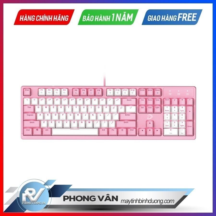 DareU EK1280S Pink White