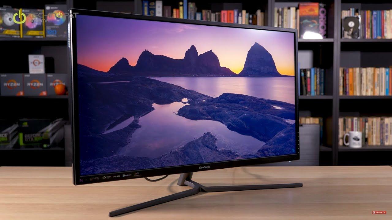 Hanoicomputer Màn hình Viewsonic VX3211-4K-MHD 31.5 inch phân giải 4K Ultra HD