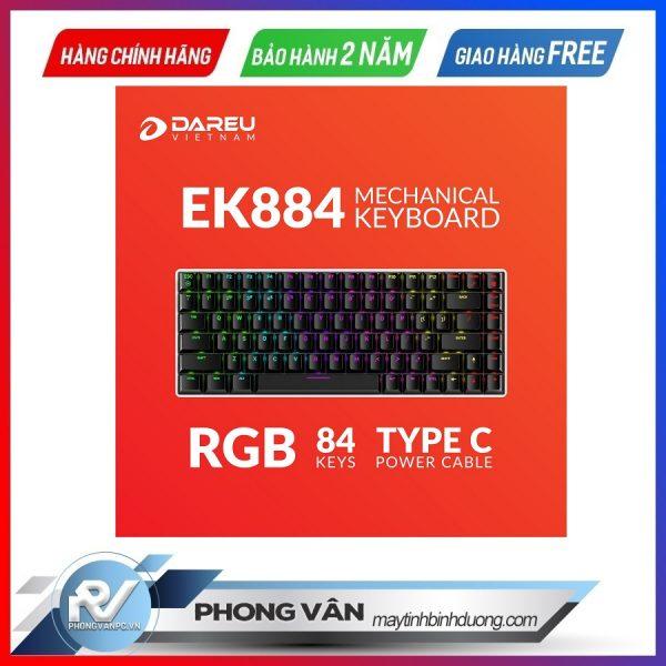 bàn phím cơ gaming dareu ek884