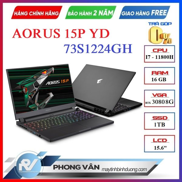 AORUS 15P YD-73S1224GH