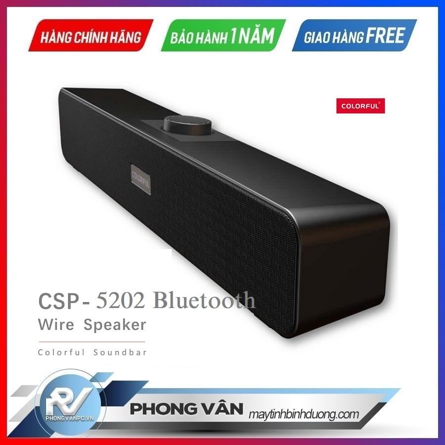 Colorful Soundbar Speaker 5202 Bluetooth